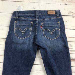 Women's Levi's Size 5M Too Superlow Skinny Jeans